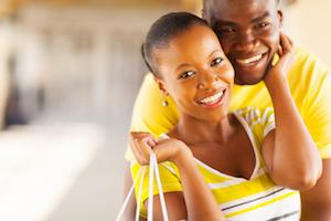 A couple smiles together | Dental Crowns Gaithersburg