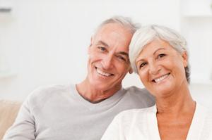 An older couple smiles | Dental Implants Gaithersburg