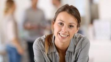 Woman Smiling | Invisalign in Gaithersburg